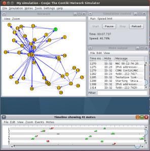 Contiki-ipv6-rpl-cooja-simulation